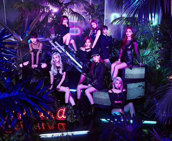 Tags: K-Pop, Twice, Tzuyu, Son Chaeyoung, Myoui Mina, Yoo Jeongyeon, Jihyo, Minatozaki Sana, Hirai Momo, Kim Dahyun, Im Nayeon, White Hair