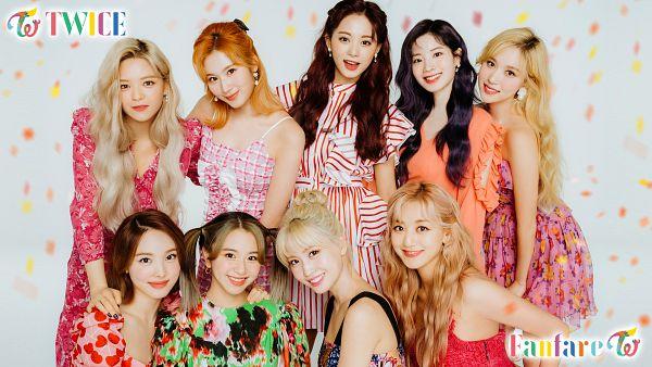 Tags: K-Pop, Twice, Im Nayeon, Tzuyu, Son Chaeyoung, Myoui Mina, Yoo Jeongyeon, Jihyo, Minatozaki Sana, Hirai Momo, Kim Dahyun, Pink Dress
