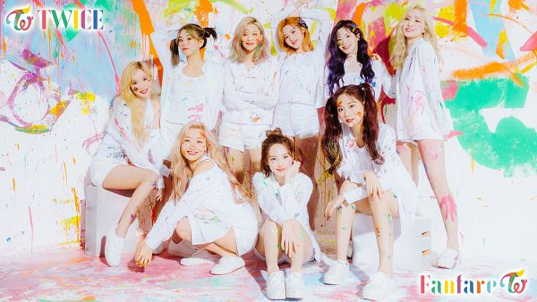 Tags: K-Pop, Twice, Tzuyu, Son Chaeyoung, Myoui Mina, Yoo Jeongyeon, Jihyo, Minatozaki Sana, Hirai Momo, Kim Dahyun, Im Nayeon, Light Background