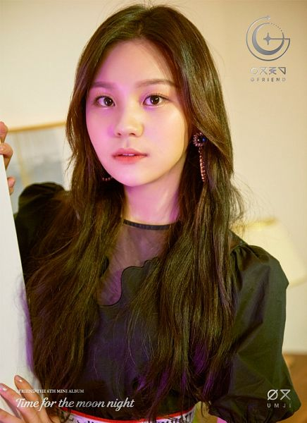 Tags: K-Pop, G-friend, Umji, Text: Artist Name, Text: Album Name, Short Sleeves, English Text, Time for the Moon Night