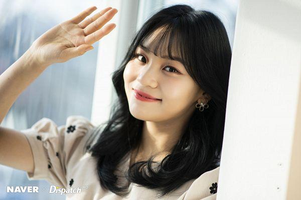 Tags: K-Pop, G-friend, Umji, Light Background, Floral Dress, White Background, White Dress, White Outfit, Floral Print, Dispatch