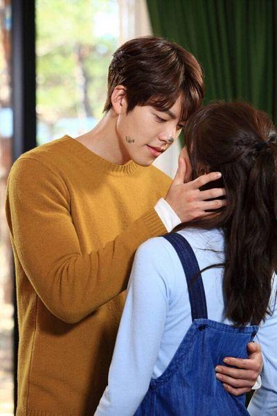 Tags: K-Drama, K-Pop, Miss A, Bae Suzy, Kim Woo-bin, Dirt, Hug, Holding Close, Overalls, Blue Shirt, Bangs, Duo