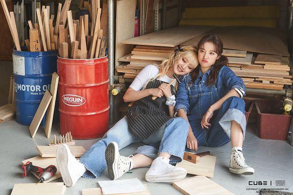 Tags: K-Pop, (G)-I-DLE, Song Yuqi, Minnie, 1, Unidentified