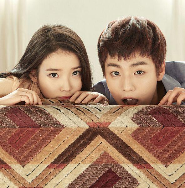 Tags: K-Pop, K-Drama, Lee Hyun-woo, IU, Couch, Mole, Duo, Facial Mark, Unionbay