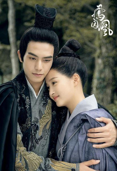 Tags: C-Drama, Guan Xiaotong, Song Weilong, Cape, Hug, Hair Ornament, Holding Close, Couple, Duo, Chinese Clothes, Plant, Traditional Clothes