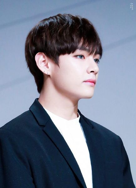 Tags: K-Pop, BTS, V (Kim Taehyung), Gray Eyes, Contact Lenses, Black Jacket, Black Outerwear