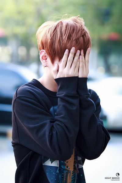 Tags: K-Pop, Bangtan Boys, V (Kim Taehyung), Eyes Closed