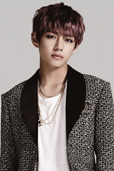 Tags: K-Pop, Bangtan Boys, V (Kim Taehyung), Jacket, Necklace, Earrings, Android/iPhone Wallpaper