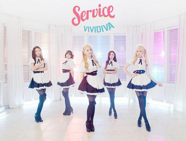 Tags: K-Pop, VIVIDIVA, Guu Me!, Sunyul, Ha.L, Saeyan