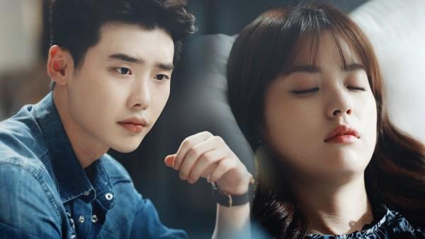 Tags: K-Drama, Han Hyo-joo, Lee Jong-suk, Sleeping, Eyes Closed, Bangs, W (Two Worlds), Wallpaper
