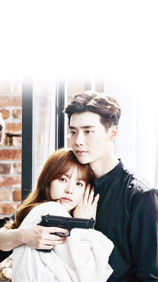 Tags: K-Drama, Han Hyo-joo, Lee Jong-suk, Holding Close, Hug, Bangs, W (Two Worlds)