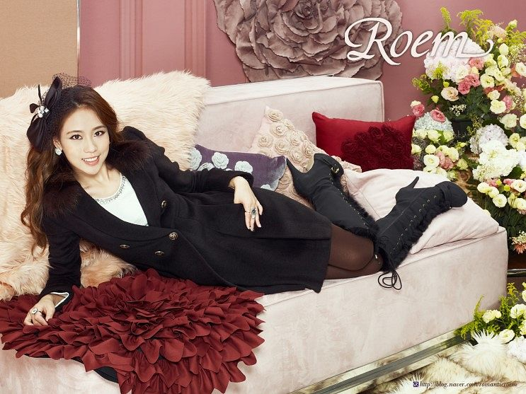 Tags: K-Pop, Miss A, Wang Feifei, High Heeled Boots, Knee Boots, Black Outerwear, Laying Down, Laying On Side, Boots, Bow, Hand On Hip, Hair Bow