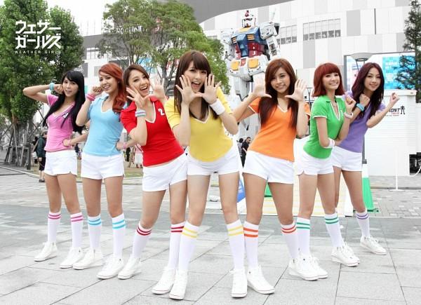 Tags: Weather Girls, Yumi, Hijon, Mini, Esse, Mia (Weather Girls), Daraa, Nuenue