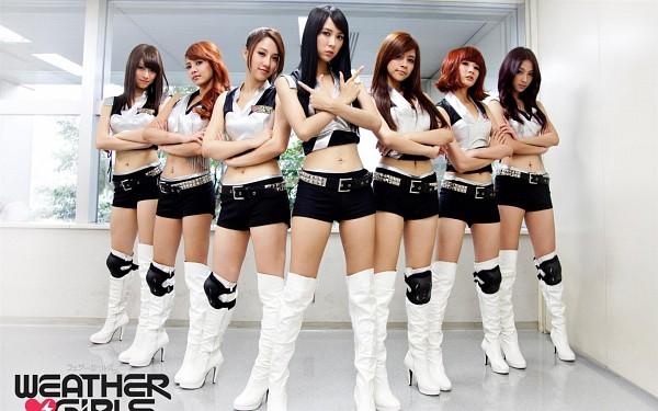 Tags: Weather Girls, Esse, Mia (Weather Girls), Daraa, Nuenue, Yumi, Hijon, Mini, Wallpaper