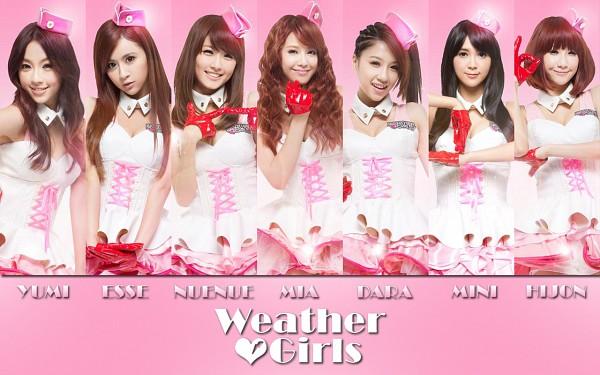 Tags: Weather Girls, Esse, Mia (Weather Girls), Daraa, Nuenue, Yumi, Hijon, Mini