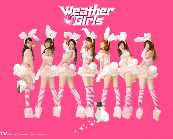 Tags: C-Pop, J-Pop, Weather Girls, Mini, Esse, Mia (Weather Girls), Daraa, Nuenue, Yumi, Hijon, Suggestive, Bunny Outfit