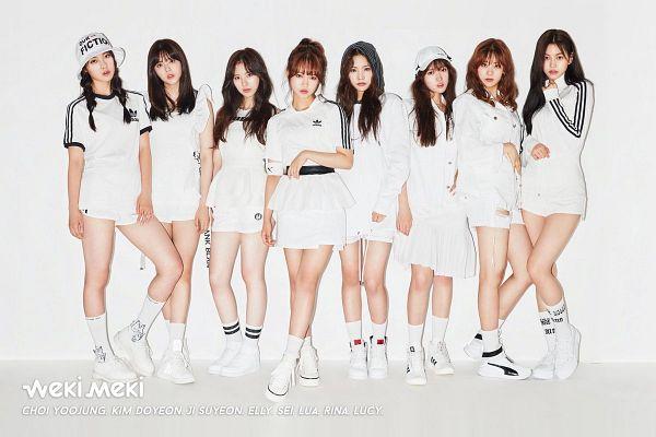 Tags: K-Pop, Weki Meki, Doyeon, Choi Yoo-jung, Lua (Weki Meki), Rina, Elly, Sei, Ji Suyeon, Lucy (Weki Meki), Baseball Cap, Matching Outfit