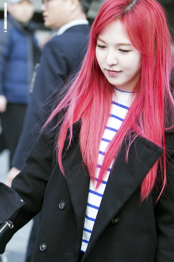 Tags: K-Pop, Red Velvet, SM Town, Wendy, Red Hair, Red Lips