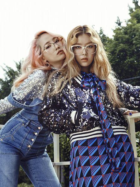 Tags: K-Pop, Wonder Girls, JYP Entertainment, Kim Yubin, Lee Sunmi, Closed Mouth