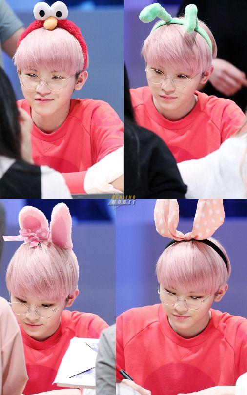 Tags: K-Pop, Seventeen, Woozi, Animal Ears