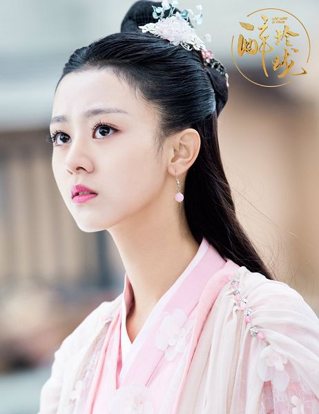 Tags: C-Drama, Xu Muchan, Pink Dress, Chinese Text, Pink Outfit, Traditional Clothes, Chinese Clothes, Lost Love In Times: Exquisite Drunken Dream