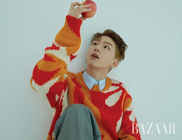 Tags: K-Pop, Monsta X, Yoo Kihyun, Magazine Scan, Harper's Bazaar, HD Wallpaper, Wallpaper