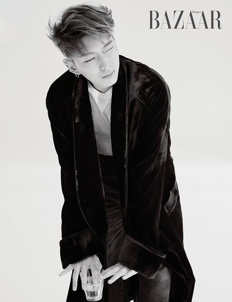 Tags: K-Pop, Monsta X, Yoo Kihyun, Magazine Scan, Harper's Bazaar