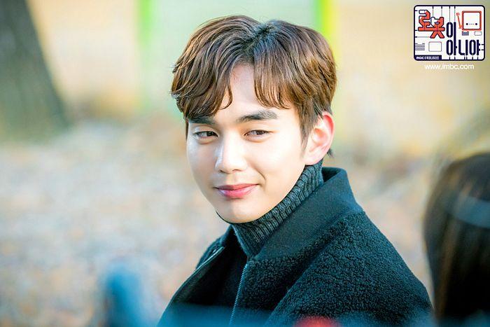 Tags: K-Drama, Yoo Seung-ho, Sweater, Text: URL, Korean Text, Collar (Clothes), Turtleneck, Text: Series Name, I'm Not a Robot
