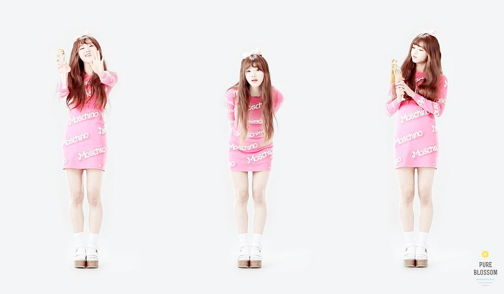 Tags: K-Pop, Oh My Girl, Yooa, Three Girls, Light Background, White Background, Trio