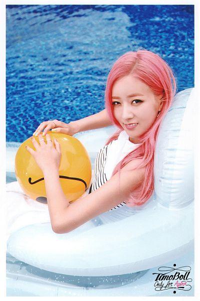 Tags: K-Pop, Apink, Yoon Bo-mi, Water, Swimming Pool, Pink Hair, Pink Memory