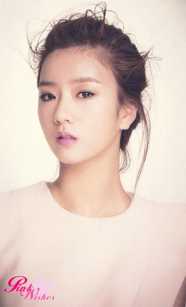 Tags: K-Pop, Apink, Yoon Bo-mi, Hair Up, Android/iPhone Wallpaper, Pink Blossom
