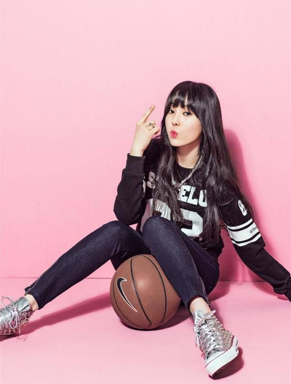 Tags: K-Pop, G-friend, Yuju, Basketball Ball, KWave, Magazine Scan