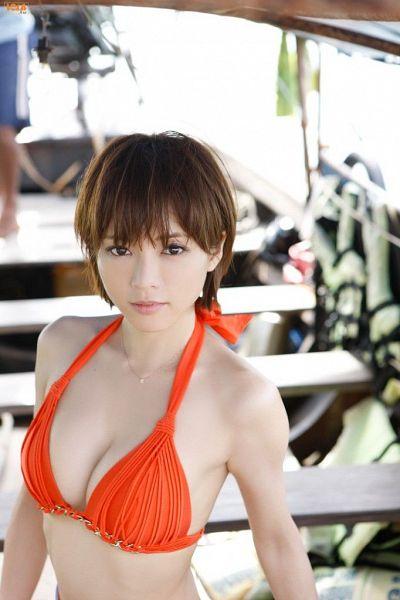 Tags: Dorama, Gravure Idol, Yumiko Shaku, Midriff, Bikini, Suggestive, Swimsuit