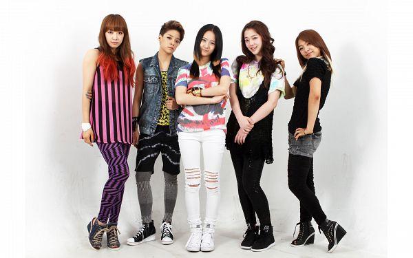 Tags: SM Town, K-Pop, f(x), Victoria Song, Sulli, Krystal Jung, Luna, Amber Liu, Five Girls, Quintet, Group, Wallpaper
