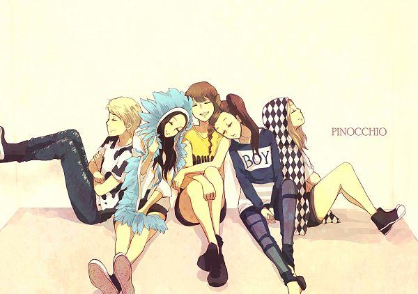 Tags: K-Pop, f(x), Krystal Jung, Luna, Amber Liu, Victoria Song, Sulli, Fanart
