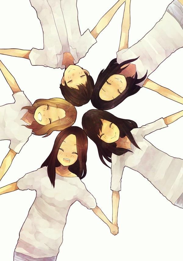 Tags: K-Pop, f(x), Victoria Song, Sulli, Krystal Jung, Luna, Amber Liu, Fanart