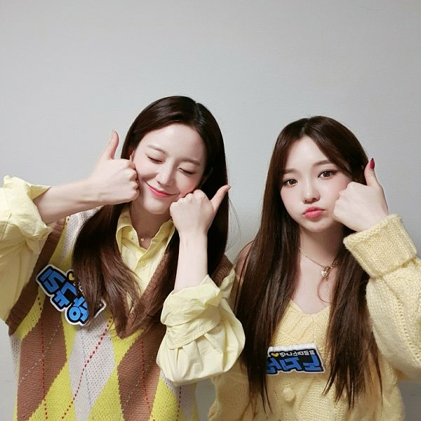 Tags: K-Pop, fromis 9, Jang Gyuri, Roh Jisun