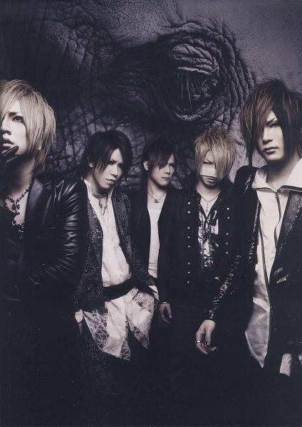 Tags: J-Pop, the GazettE, Ruki (the GazettE), Kai (the GazettE), Reita (the GazettE), Aoi (the GazettE), Uruha (the GazettE), Five Males, Full Group, Group, Quintet, Leather Jacket